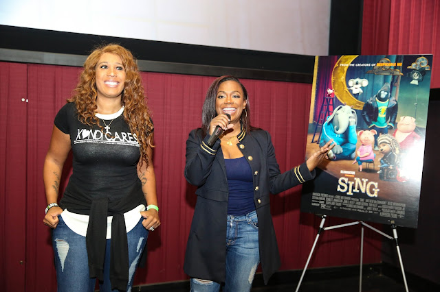 Carmelo Anthony and Kandi Burruss Host SING Special Screenings!  via  www.productreviewmom.com