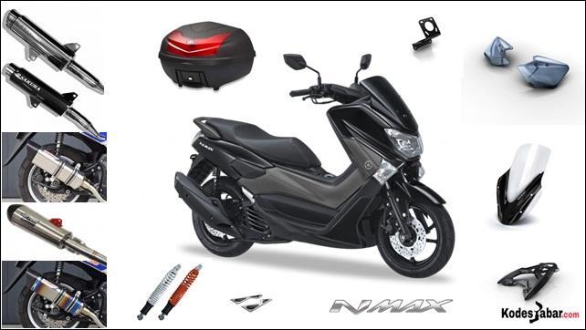 Accesories Resmi Yamaha NMAX