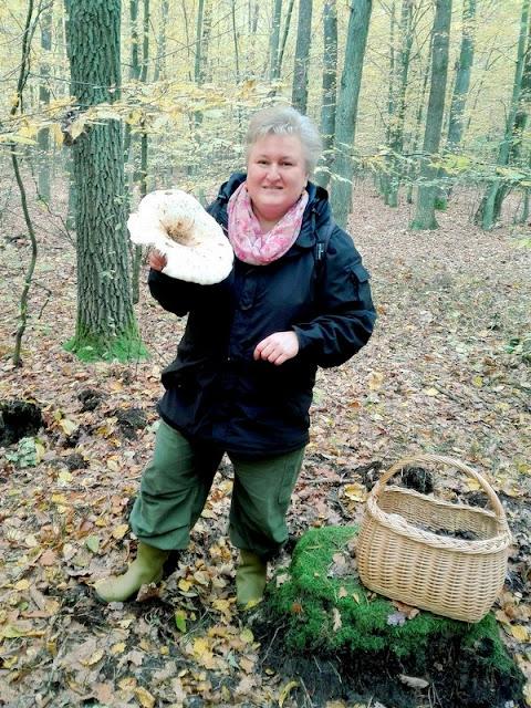 las, grzybobranie, grzybiara, grzybiarka, lubię zbierac grzyby, blogerka kulinarna, kobieta