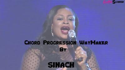 Chord Progression WayMaker - Sinach