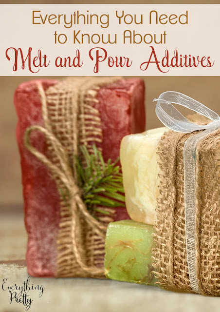 Your Guide to Melt and Pour Additives