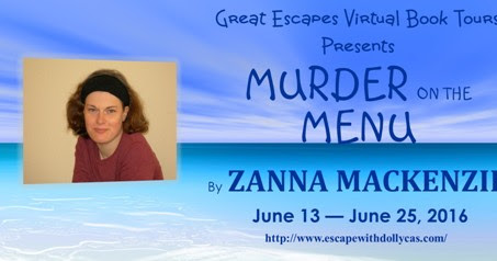 Murder on the Menu by Zanna Mackenzie | Blog Tour with Review