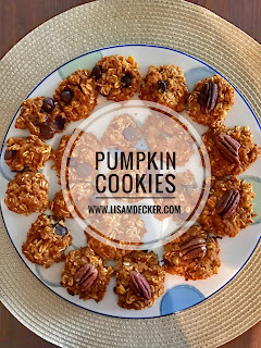 Pumpkin Cookies, 21 day fix treats, Healthy Pumpkin Cookies, Healthy Treats, Successfully Fit, Lisa Decker