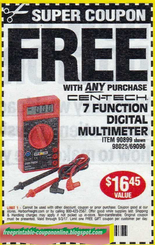Best harbor freight coupons