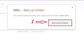 Blog Or Website Ka Backup Kaise Lete Hain Latest Tips In Hindi