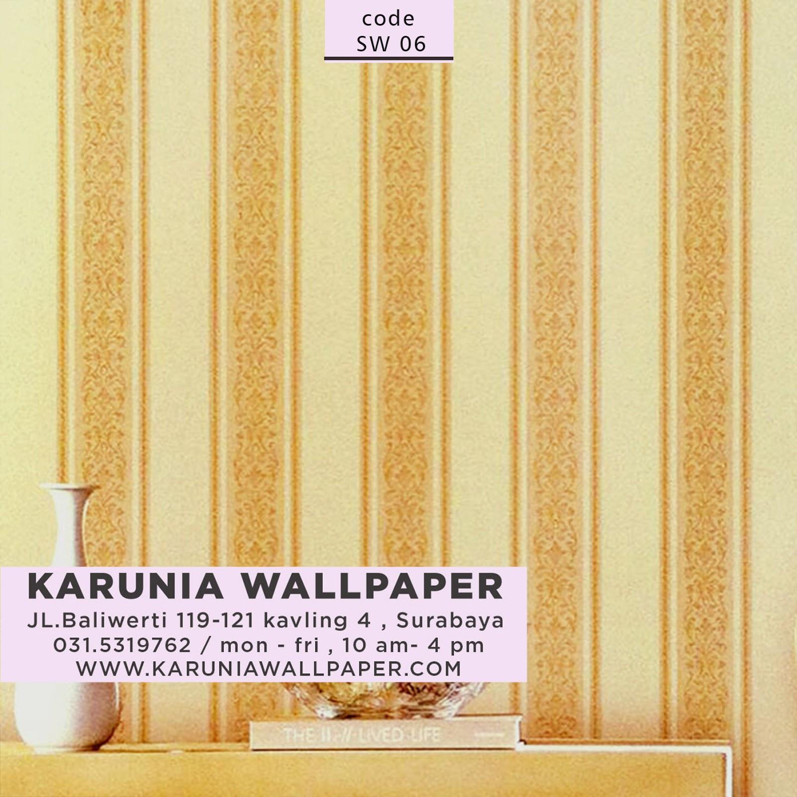 jual wallpaper rumah bunga kembang