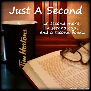 Scavenger Hunt Blog Hop - visit my book blog Just A Second for all details - JustASecondBlog.blogspot.com