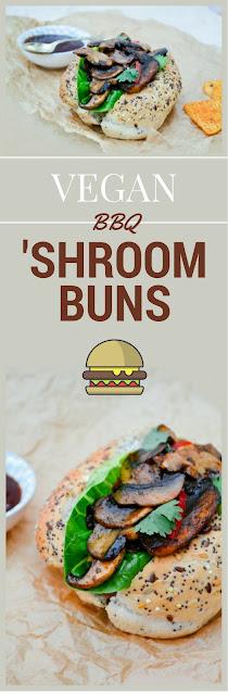 Vegan BBQ 'Shroom Buns
