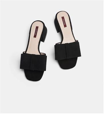 Sandálias com laço Uterque