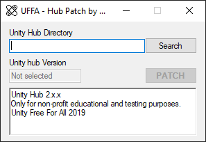 UFFA - Hub Patch