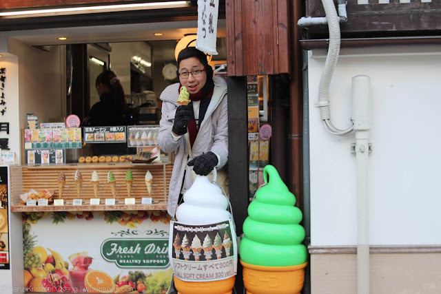 Renz Cheng, Wander Kid Travels in Kyoto with Ice Cream