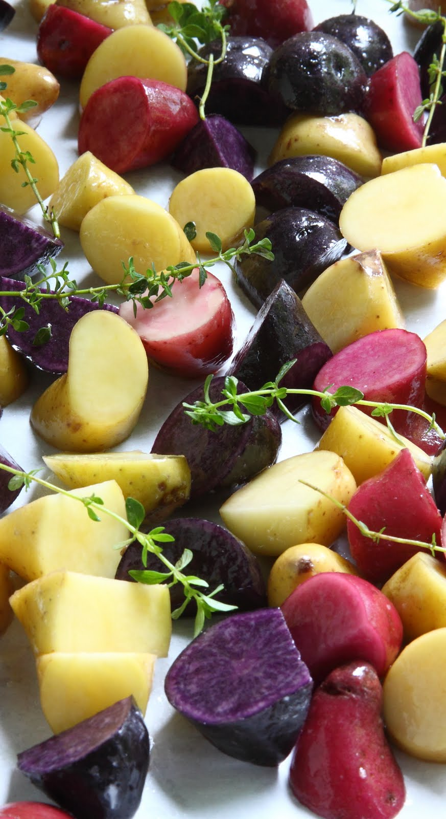 how to cube potatoes for potato salad