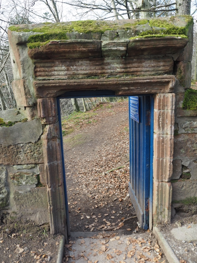 blue door trail esk river scotland