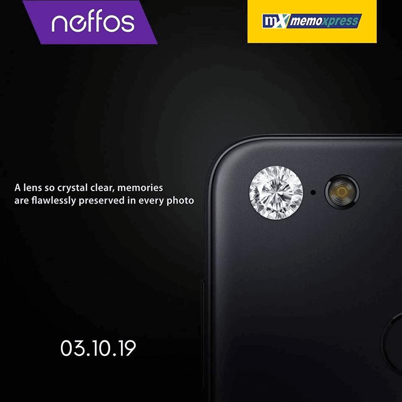 Neffos smartphone will launch in SM Cyberzone at SM City North Edsa