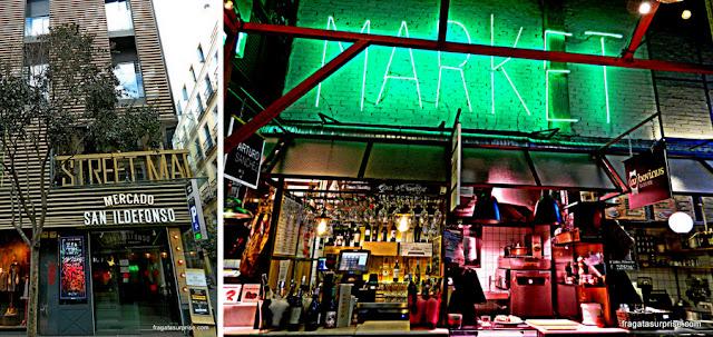 Mercado de San Ildefonso, Malasaña, Madri