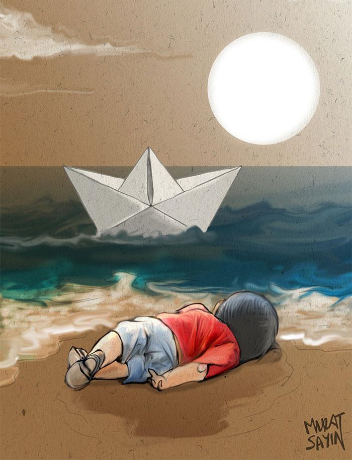 fotografije sirijskog dječaka