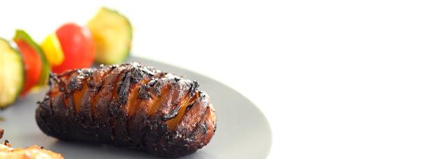 Pommes de terre au miel - au barbecue