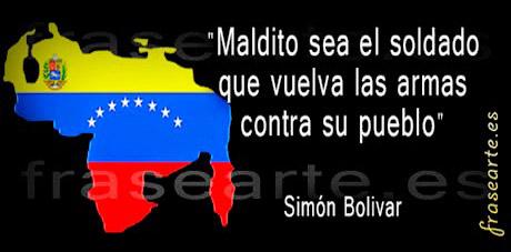Citas célebres de Simón Bolivar