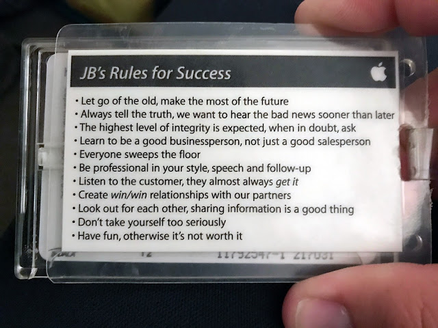 As 11 regras para o sucesso segundo a Apple