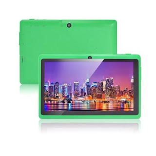 kids tablet green