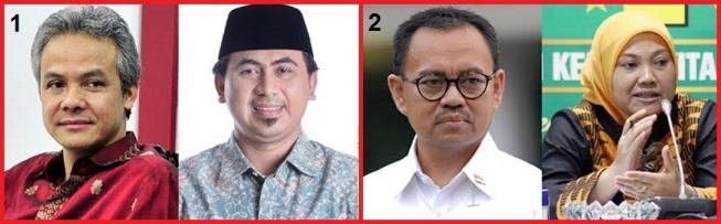Pasangan calon gubernur dan wakil gubernur jateng 2018