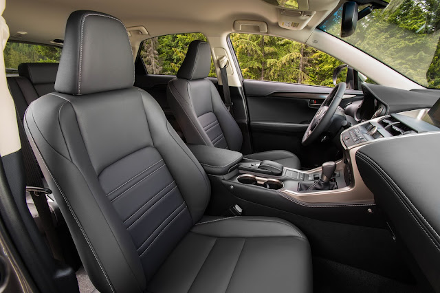 Interior view of 2016 Lexus NX 200t F SPORT
