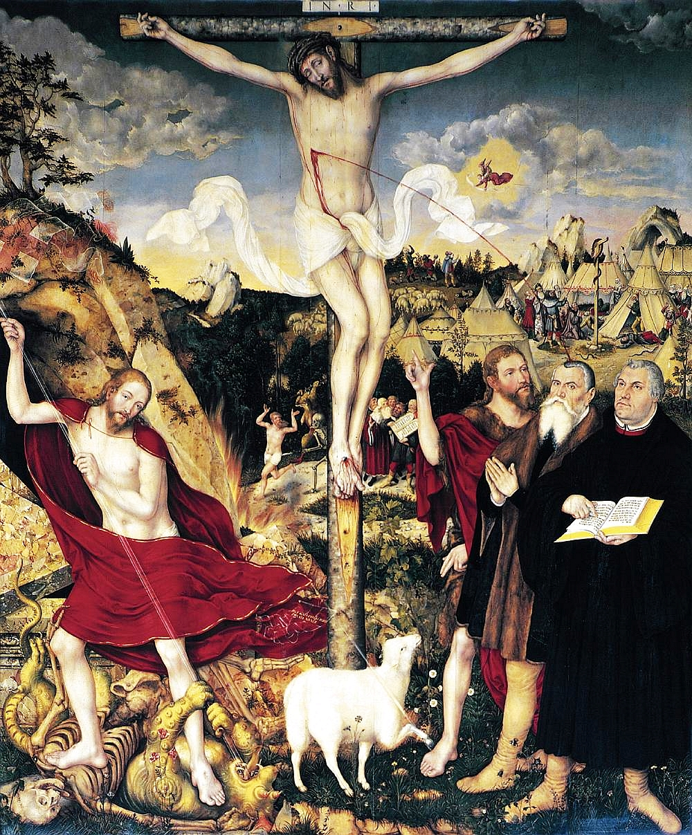 Cranach the Younger: Weimar Altarpiece
