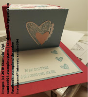 Hearts for All Occasions with Meant To Be Stamp Set using Balmy Blue