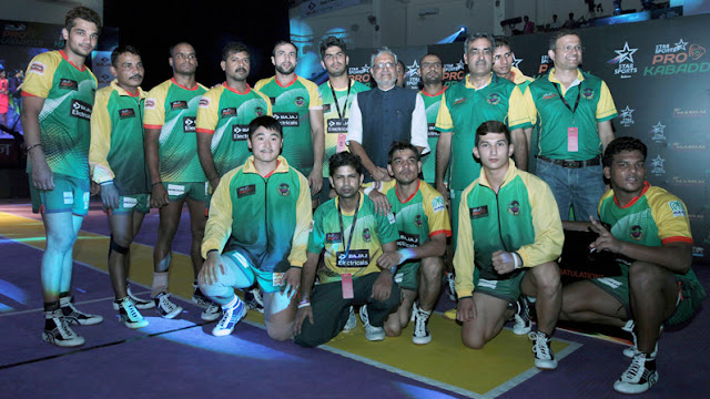 Patna Pirates Team 2016