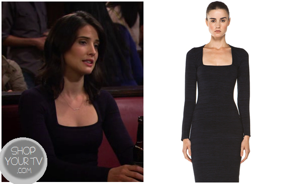 How I Met Your Mother Season 8 Episode 5 Robin S Square Neck Dress