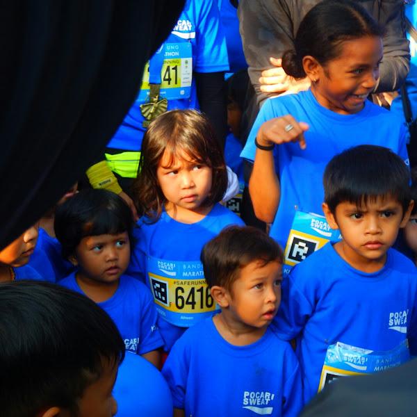 Ketemu Jennifer Bachdim di Pocari Sweat Bandung Marathon Kiddash 200M #SafeRunning