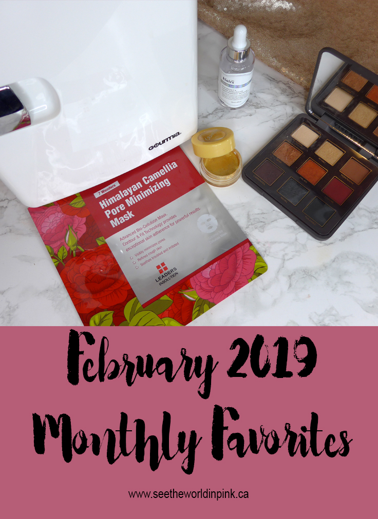February 2019 Monthly Favorites!