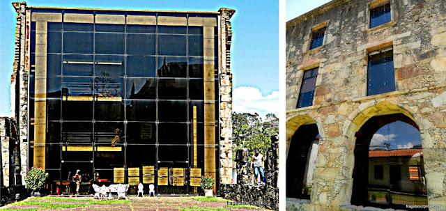 Alas do Santuário do Caraça restauradas após o incêndio de 1968