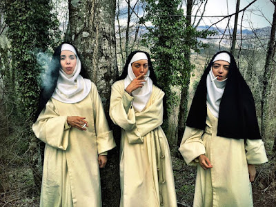 The Little Hours 2017 movie still Aubrey Plaza Alison Brie Kate Micucci