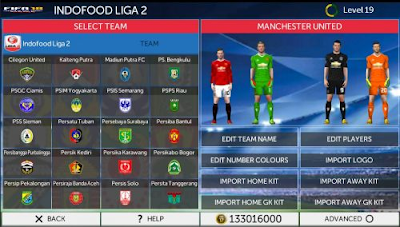 Mirror FTS Mod Fifa 2018 Apk+Data