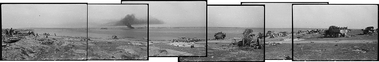 Панорама бухты Казачьей, 13 мая 1944 года
