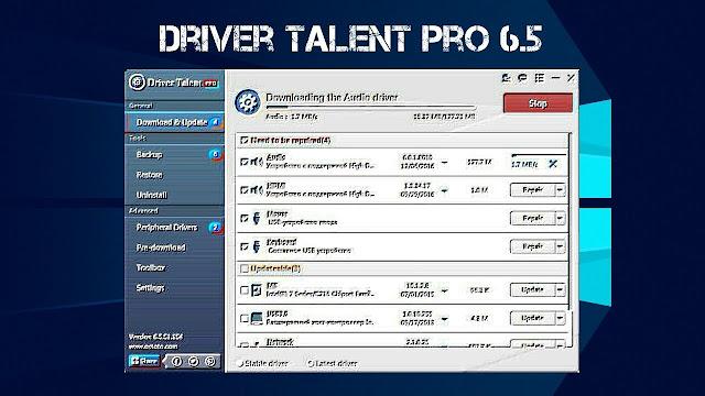 تحميل برنامج درايفر تالنت Driver Talent للبحث عن التعريفات الناقصة على أجهزة الكمبيوتر