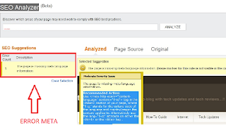repot seo analyzer bing
