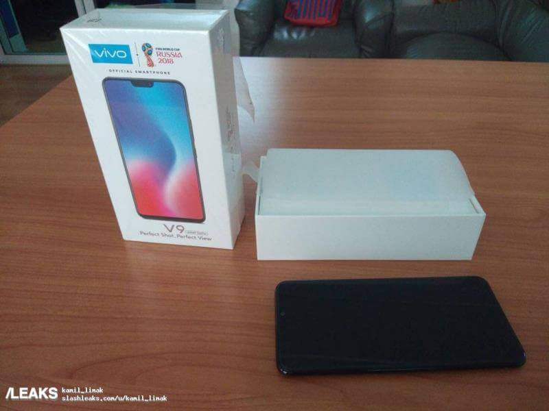 Vivo V9 Handset, Retail Box Spotted Ahead of Launch