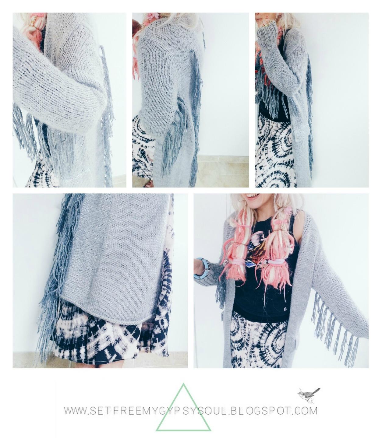 bohemian fashion boho chic upcycled refashion diy hack