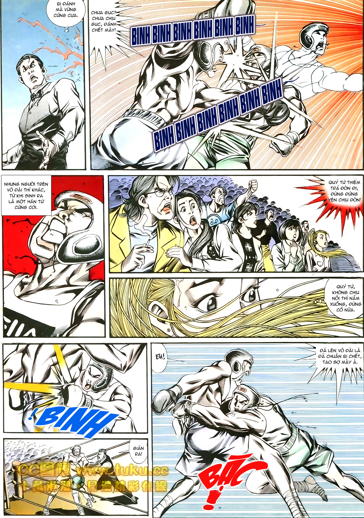 Người Trong Giang Hồ chapter 188: chiến nô trang 17
