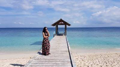 Suasana Pantai Gili Labak