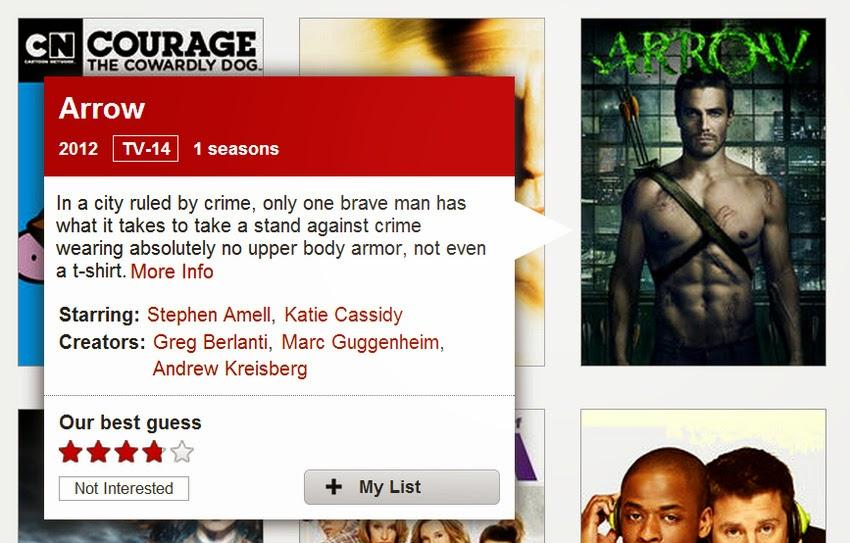 Descrições honestos de Shows da Netflix, com base em programas de TV