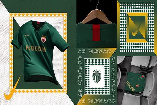 camisetas de futbol AS Monaco baratas