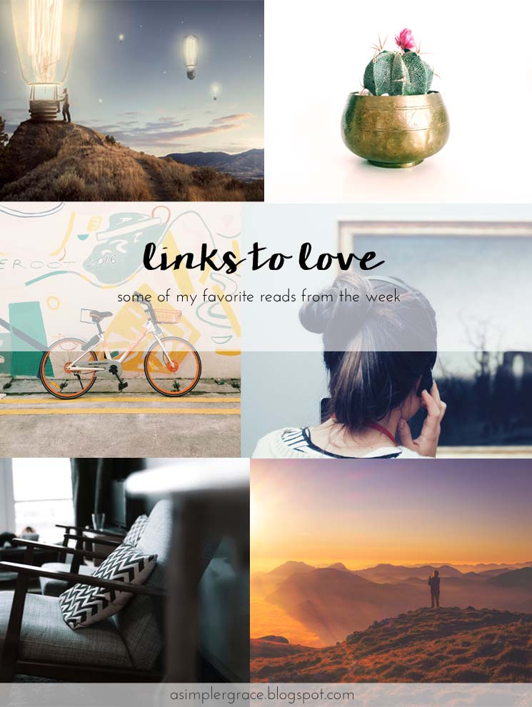 Stop by to see my favorite links from the week!  #linkstolove #fridayfavorites