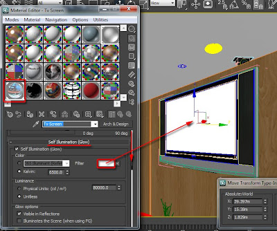 3d images: Correcting the Vray and mental ray self-illumination display in the viewport
