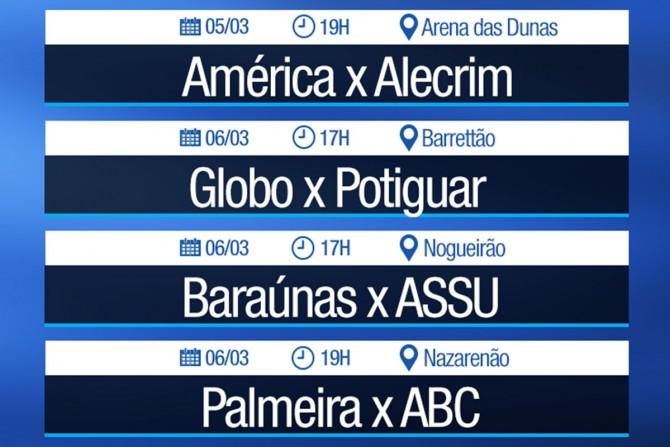 FNF confirma datas e horários das primeiras rodadas do 2º turno do Potiguar