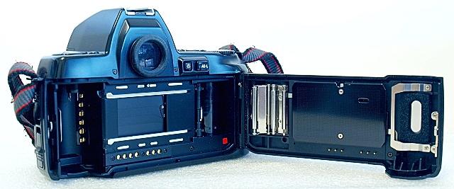 Nikon F-801s, Film box