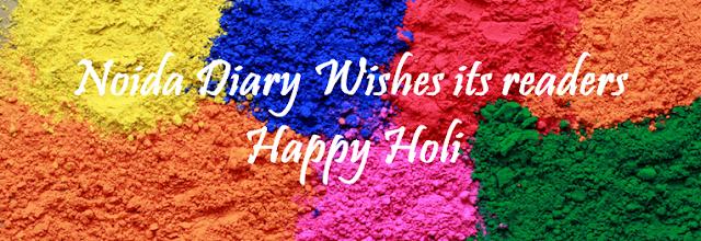 Noida Diary: Happy Holi 2016