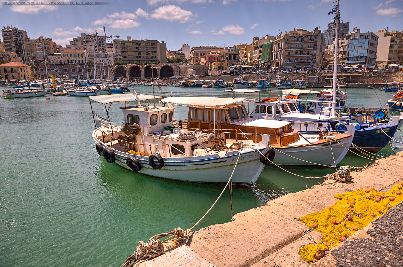 Port in Heraklion